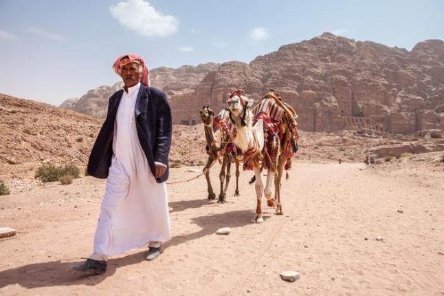 Petra, una de las 7 maravillas del mundo en Jordania by machbel