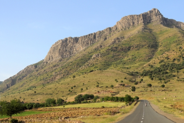 carretera en Kurdistan Irán