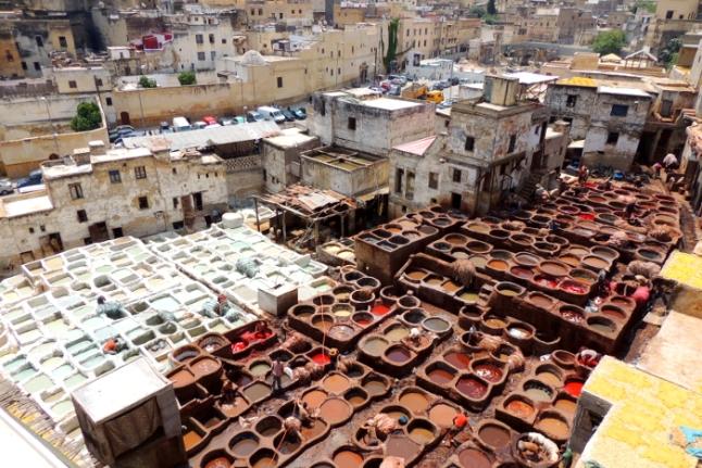 Curtidurías de Fez.JPG